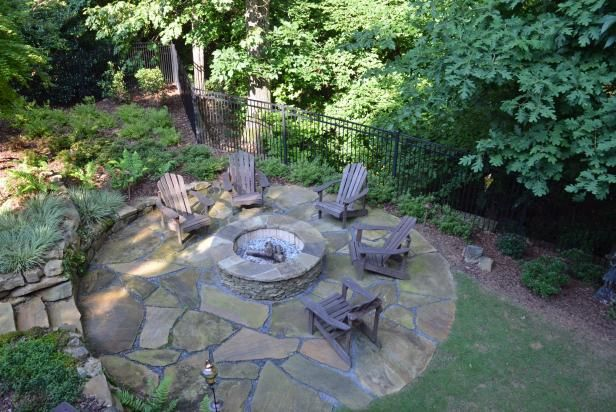 17 best images about hgtv outdoor spaces on pinterest gardens decks and backyards - Types fire pits cozy outdoor spaces ...