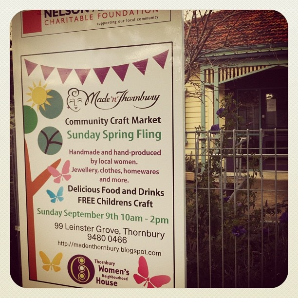 #handmade #market coming up! #madenthornbury on Sunday September 9th