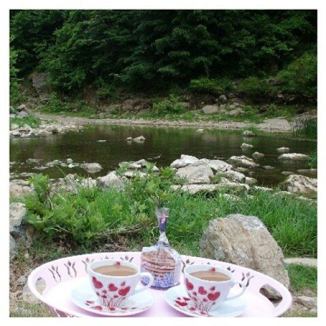 # Şelale #huzur #sakinlik #kahve #keyfi #sunum # sunumönemlidir #sunumonemlidir #selale #Hayirli #Cumalar # Şile #Sile #Hacilli # Köyü