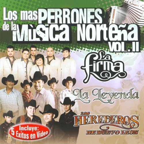 Las Mas Perronas de La Musica Nortena, Vol. 2: Exitos [CD]