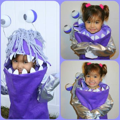 """Boo"" Halloween costume Monsters Inc. and Boo 