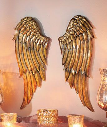 Angelic Wing Wall Decor OH MY GOODNESS!                                                                                                                                                                                 More