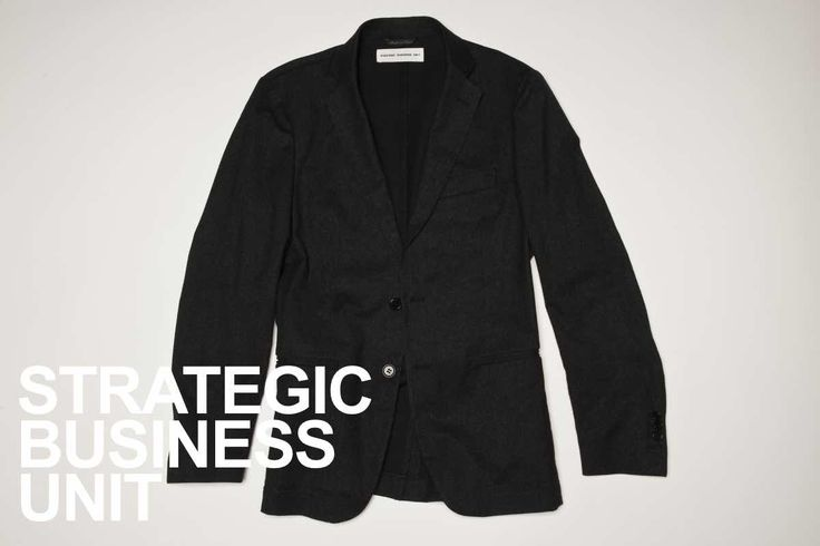 SBU tailored black blazer.