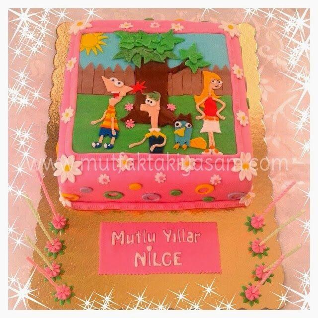Phineas Ve Ferb pastası
