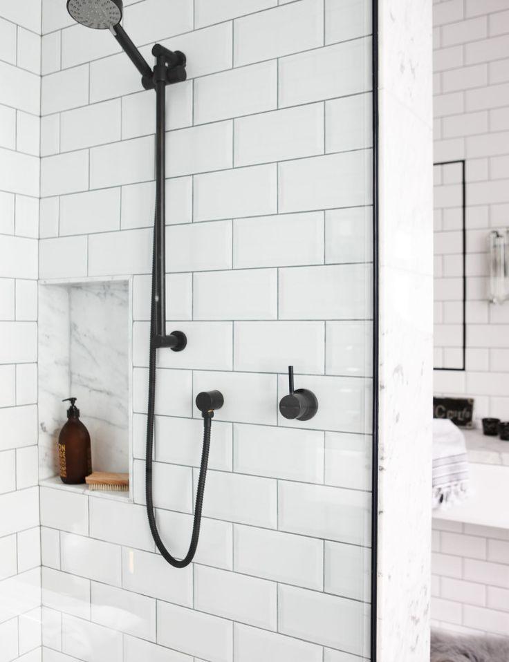White Tiles, Marble Bathroom