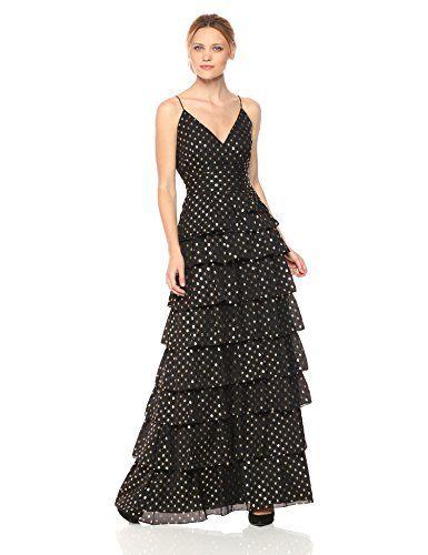 4e3829057a4 Online Boutiques · Chic ML Monique Lhuillier Women s Metallic Dot Gown  online.   284.22  shoppingdresses from top