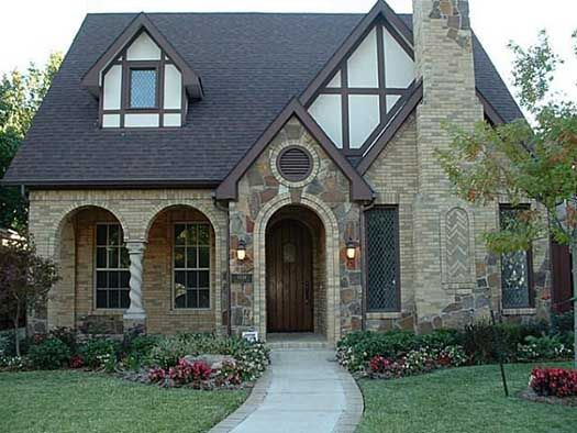 European style house plans 2827 square foot home 2 for Historic tudor house plans