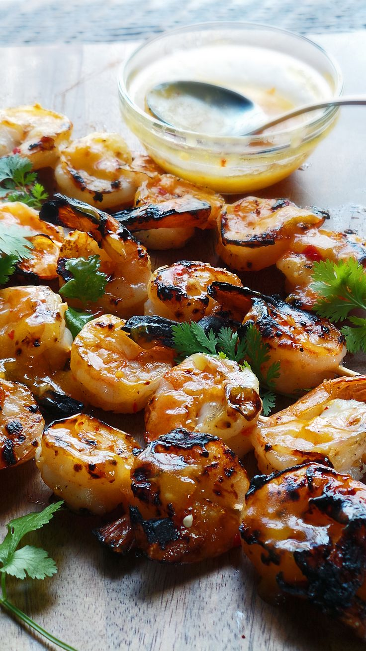 Grilled Scampi Shrimp Recipe Grilled Shrimp Chili And Chicken Marinades