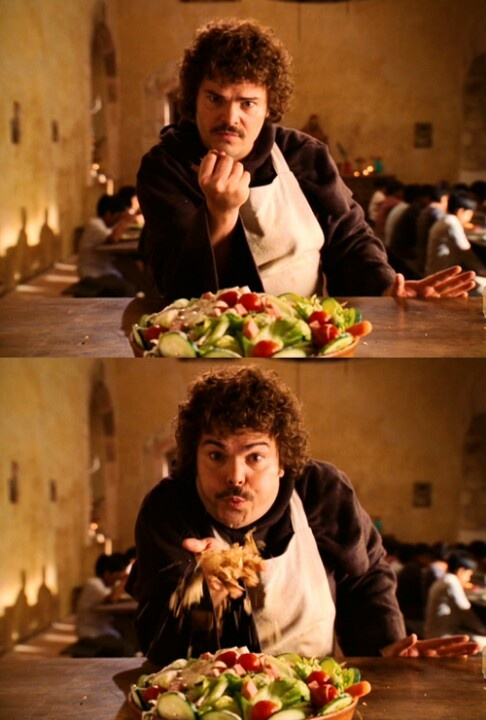 Nacho Libre, a simple salad :)