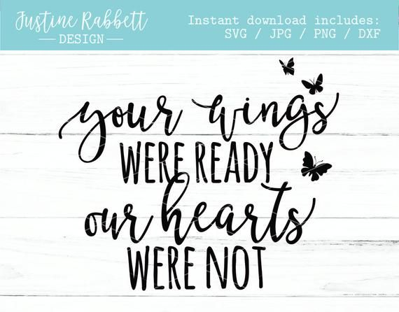 Download Your wings were ready our hearts were not butterfly ...
