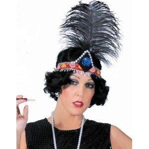 Coiffe Charleston Femme Cabaret