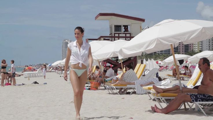 Sonia Gil walks us through the many sections of Miami's famous beaches.