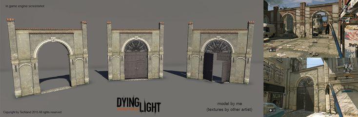 ArtStation - Few things that I've made for Dying Light, Krystian Golebczyk