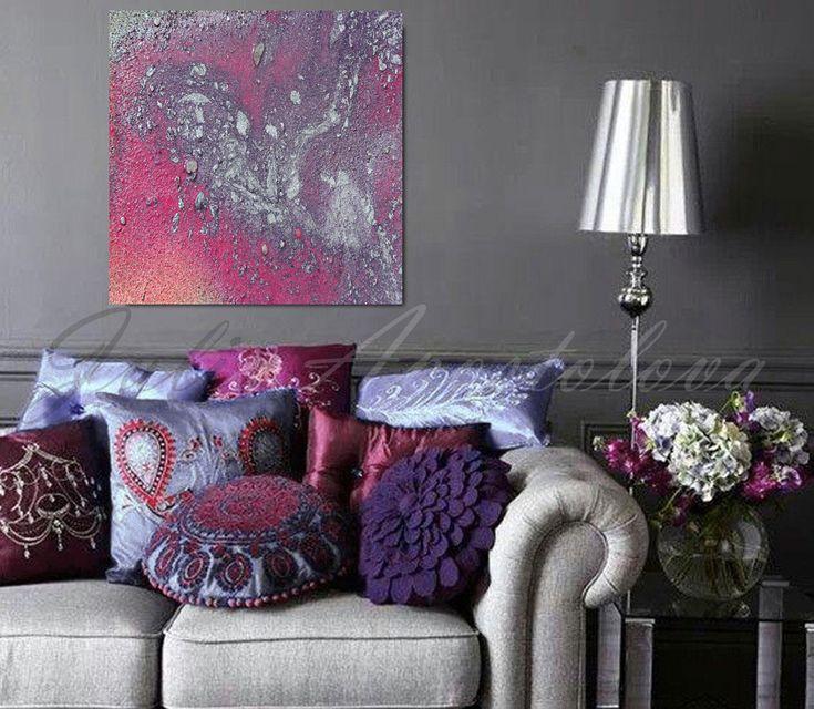 modern large wall art '' galaxy ''
