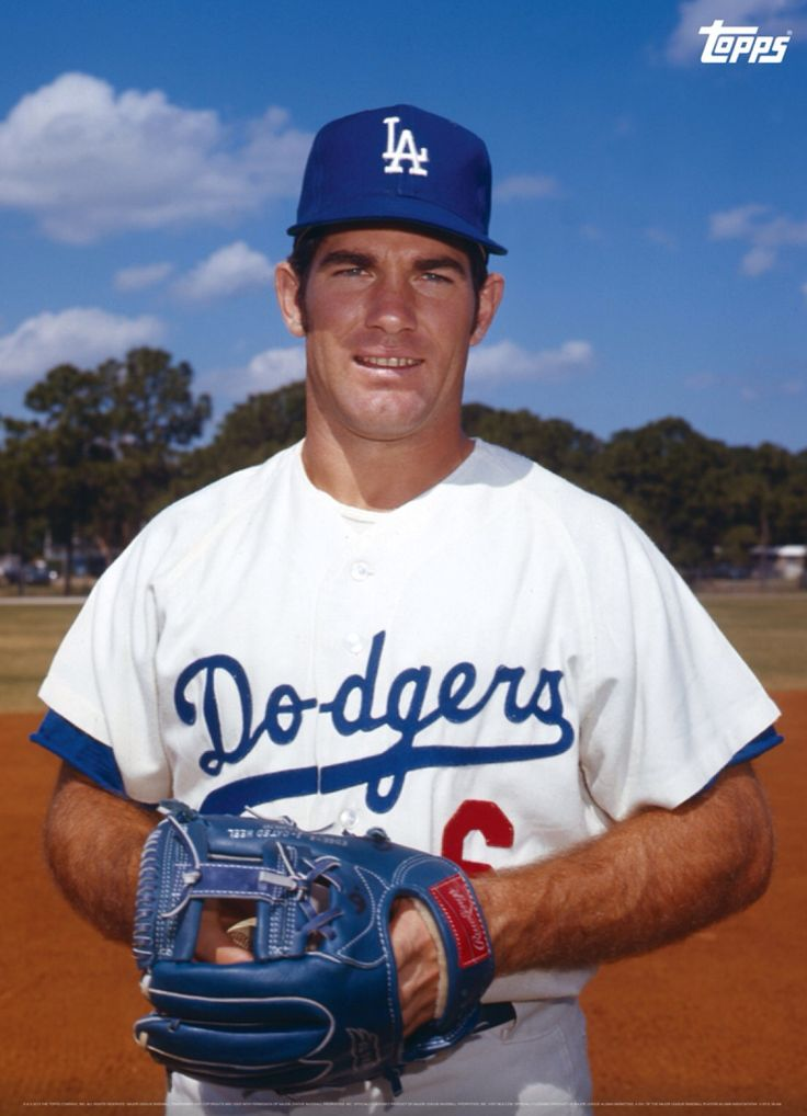 Steve Garvey. Looks like late '60s or early '70s considering the mitt - was he still playing 3B?