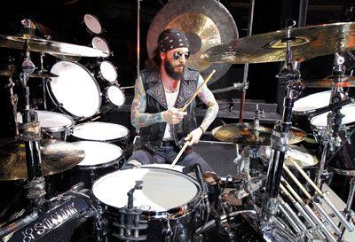 Tommy Clufetos - Aquarian Drumheads | Aquarian Drumheads