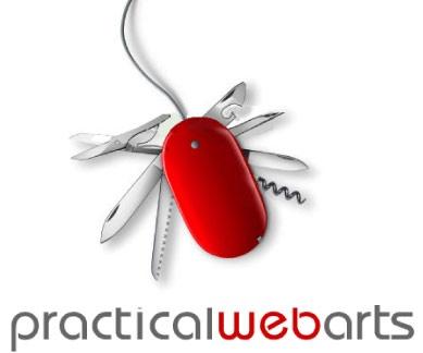 Practical Web Art logo design
