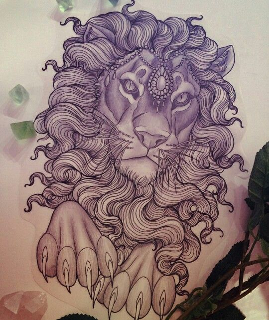 Not The Feet Tho Tattoos And Piercings Lion Tattoo Design