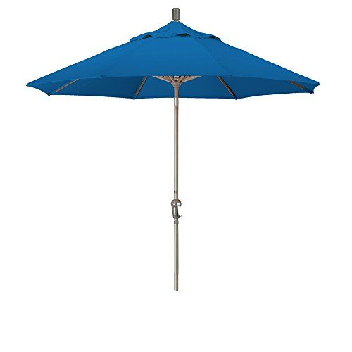 California Umbrella 9 Round Aluminum Market Umbrella Crank Lift Auto Tilt Champagne Pole Pacifica Pacific Blue For Sale https://patioumbrellasusa.info/california-umbrella-9-round-aluminum-market-umbrella-crank-lift-auto-tilt-champagne-pole-pacifica-pacific-blue-for-sale/