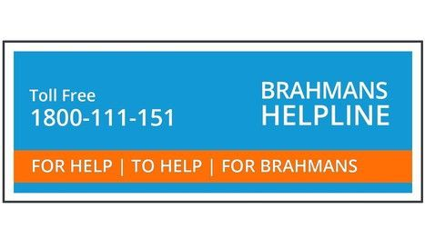 Brahmans Helpline in India | Brahman International  Brahman international provides assistance to all Brahmans. Brahman international initiative in areas of education, employment, business and health is a great relief to needy Brahmans.  https://medium.com/@brahmaninternational/brahmans-helpline-in-india-brahman-international-37b91f39c5aa