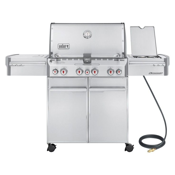 weber summit gas grill with side and rotisserie - Weber Gas Grill