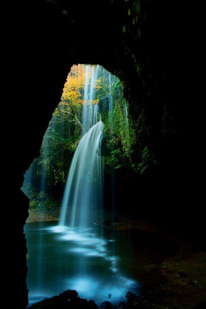 Nabegataki Falls, Kumamoto, Japan 鍋ヶ滝 熊本