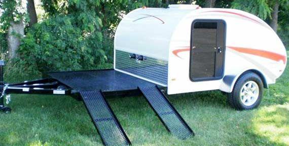 sports teardrop trailer | Wide Sport teardrop ultra-light camper trailers by Little Guy for ...