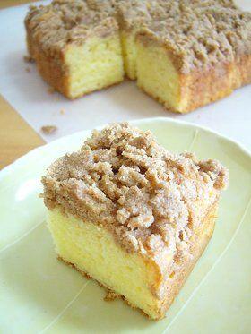 アメリカの味♪Coffee Cake☆★ by つくしぐみ [クックパッド] 簡単おいしいみんなのレシピが222万品