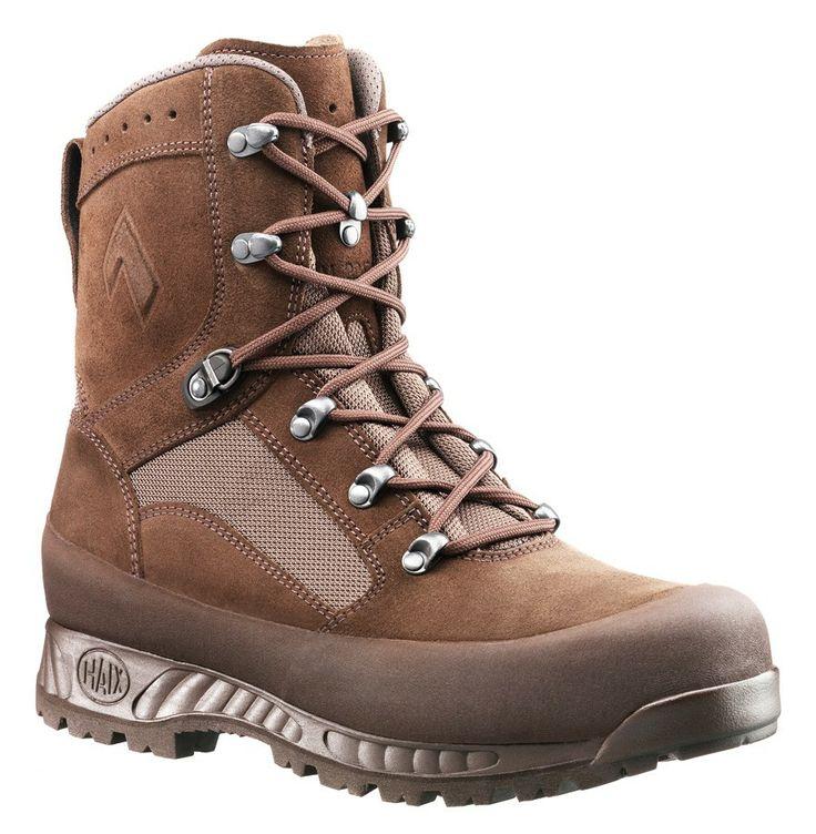 Haix Desert High Liability British Army Boot Brown. #Footwear #Tactical #TacticalFootwear #TacticalGear