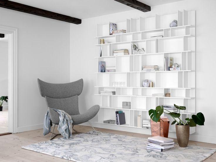 White Designer Bookshelf Sydney
