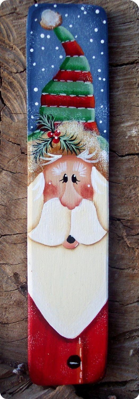 Alto Santa ornamento por CountryCharmers en Etsy, $8,00