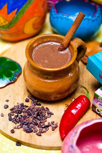Hemsley & Hemsley: Healthy Mexican Hot Chocolate Recipe (Vogue.com UK)