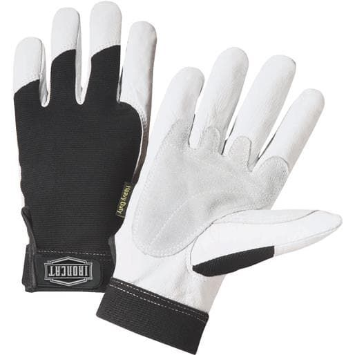 West Chester Xxl Hd Goatskin Glove 86552/2XL Unit: Pair, Black