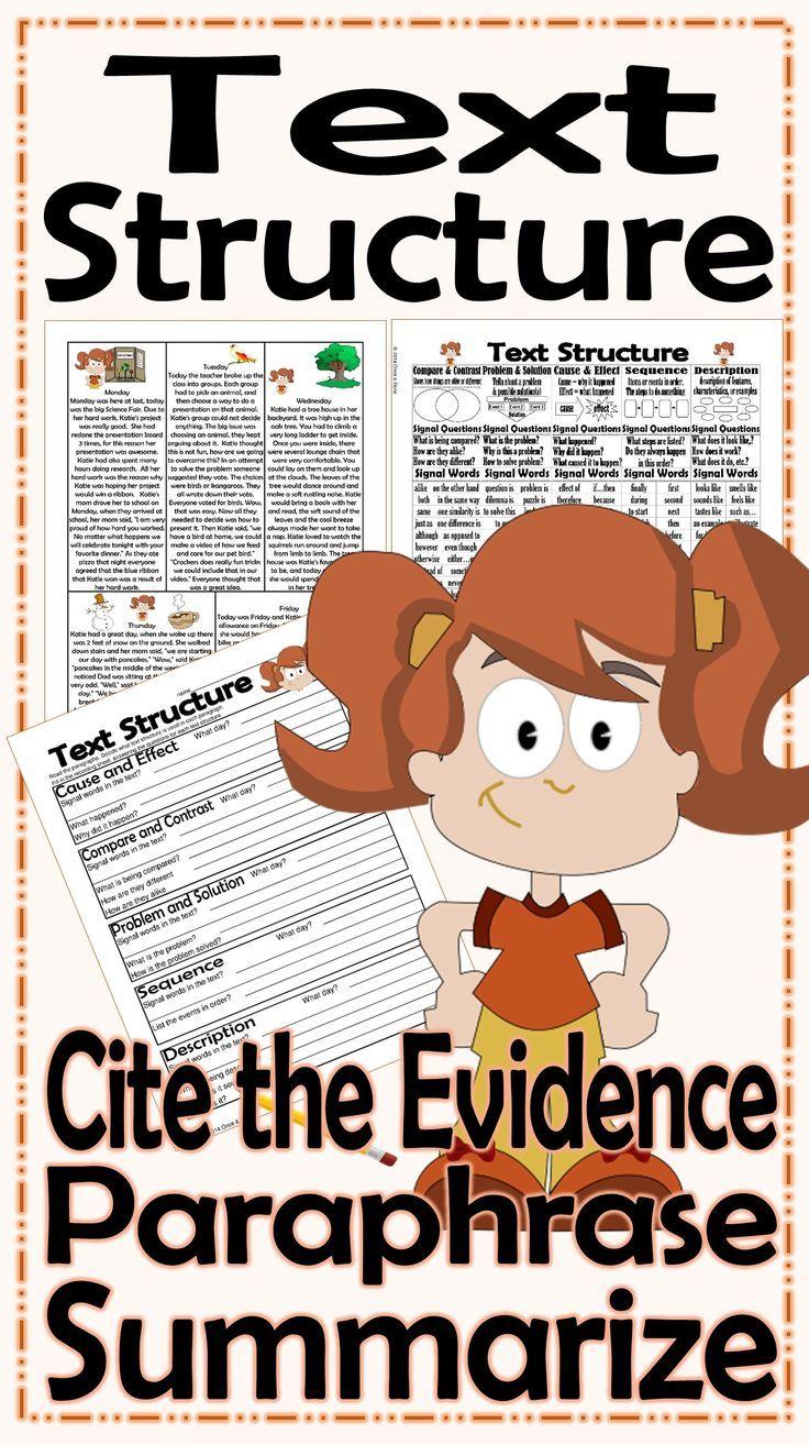 Summarizing and paraphrasing worksheets the same thing