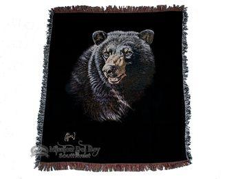 "Wildlife Southwestern Throw Blanket 50""""x60"""" -Bear (st14)"