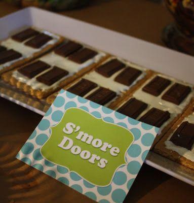 monsters inc food – smore doors – Beth Kruse Custom Creations