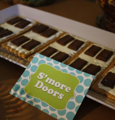 monsters inc food – smore doors – Beth Kruse Custom Creations