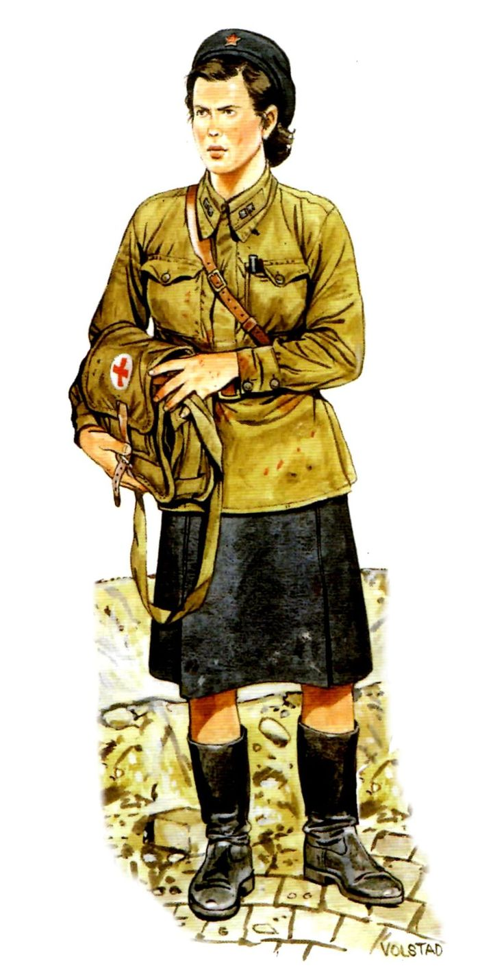 ARMATA ROSSA - La difesa di Leningrad. Tenente  Medico delll'Armata Rosssa. Ron Volstad