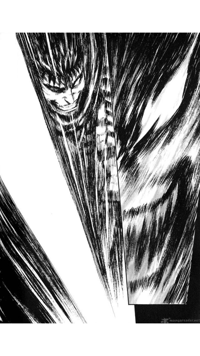 panels from bezerk by kentaro miura.