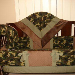 Military Camo Baby Bedding