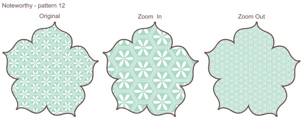 My Digital Studio (MDS) Designer Series Paper At Different 'Zooms' {Project by: Me (Jamie Schill)}