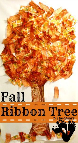 Fall Ribbon Tree