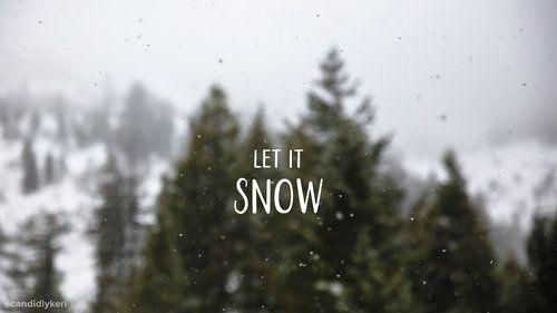 let it snow desktop in 2019   Winter wallpaper desktop ...