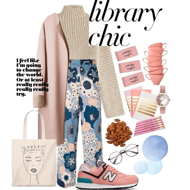 Trendy Fashion Style Women's Clothing Online Shopping - SHOP NOW !         Shhhhhhhh......trying to study!  #librarychic #polyvorecontest #fallfashion #likes4likes #style #coat #nude #pink #sweaterseason #floral #backtoschool #nike #almonds #fashionblogger #styleblogger #schoolsupplies #nerd #streetstyle #tea #focused #success #likeforlike #like4like #motovation #chic…