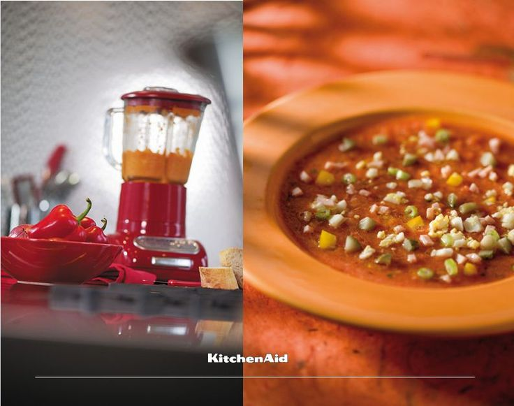 A good lunch is as essential as a good breakfast! A delicious gazpacho makes for a great lunch and can be made with no trouble at all using our Artisan Blender! Much love KitchenAid Africa xx #KitchenAidAfrica #WouldYourMomMakeThis