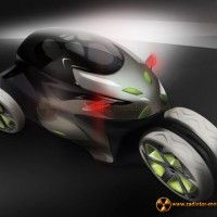 Paraton-e jest hybrydowym mutantem zaprojektowanym przez Frederika Dallmeyera łączącym w sobie cechy motocykla i samochodu. Projektant tego futurystycznego modelu zadbał o wygodę kierowcy, który może zmienia konfigurację i ustawienia w zależności od swoich potrzeb.