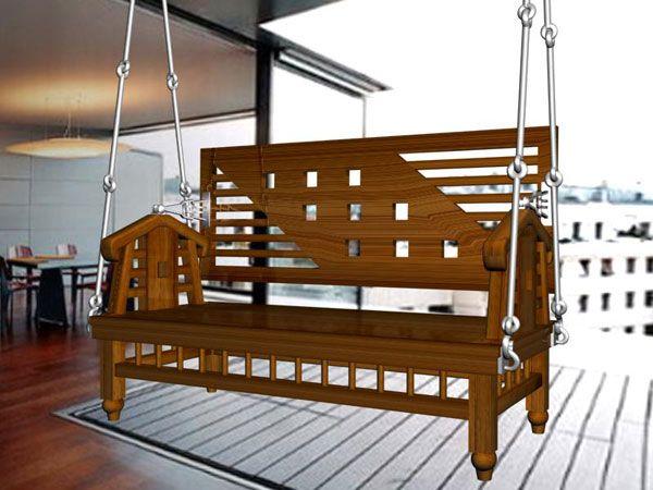 best  about Teakwood Wooden Swings on Pinterest