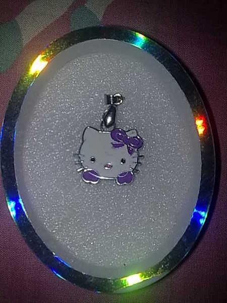 Hello Kitty Pendent (Purpal)