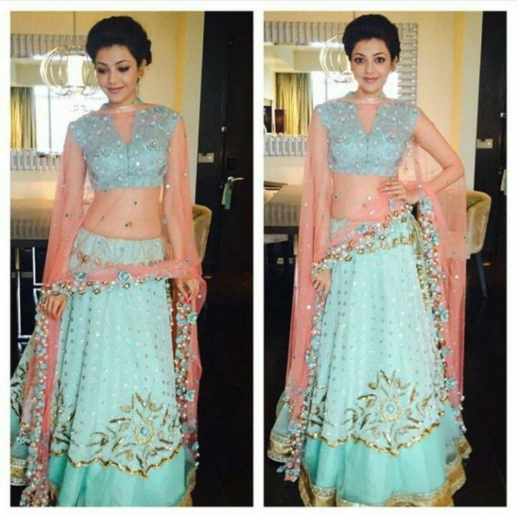 kajal agarwal traditional dress - photo #37