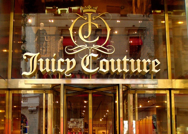 Juicy Couture Store. A shopping spree- Pretty Woman style- on the bucket list.
